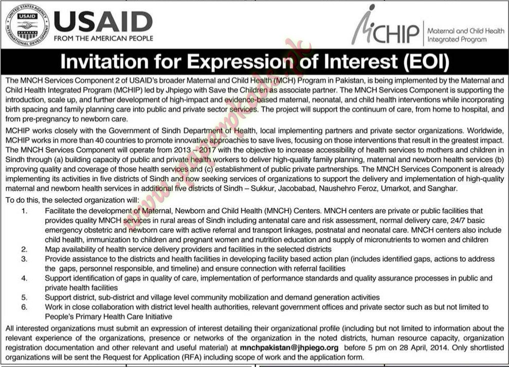 Expression of interest usaid paperpk expression of interest usaid altavistaventures Gallery