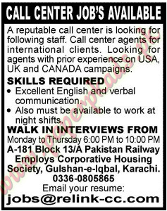 (Jang 06 April 2014) - Call Center Jobs