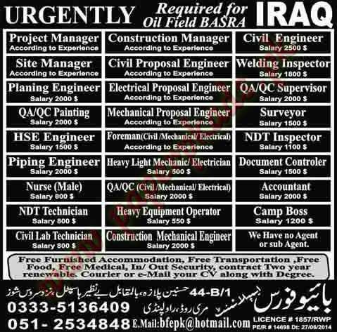Qc welding inspector jobs in uae