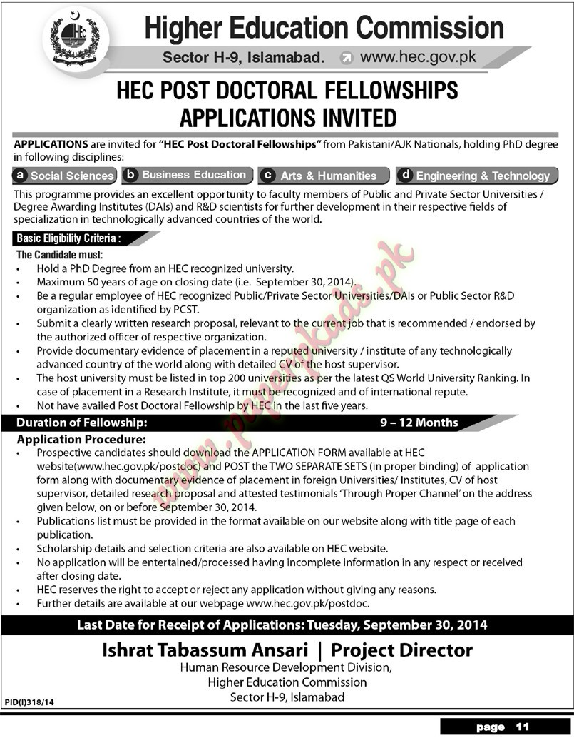 Higher Education Commission Jobs Higher Education Commission Jobs
