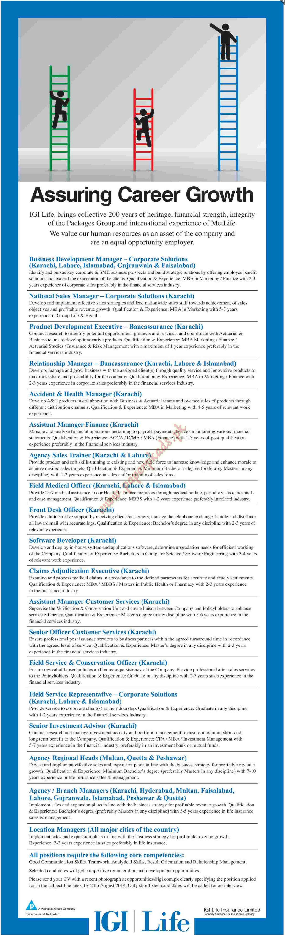 Business Development Manager, National Sales Manager, Product Development  Executive, Relationship Manager And Other