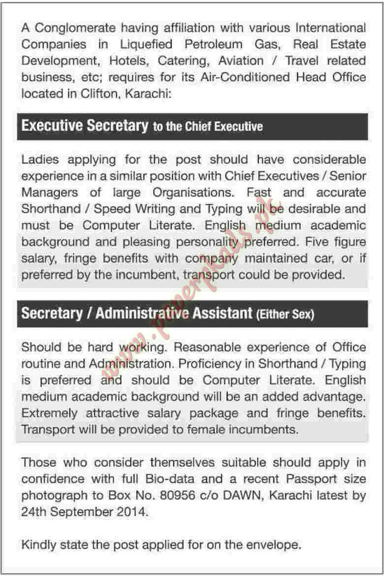 Administrative Assistant home economics college lahore subjects