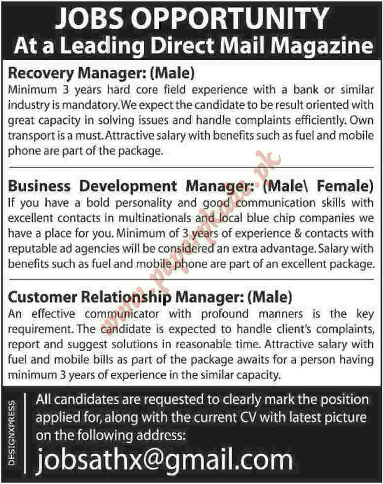 business development and relationship management