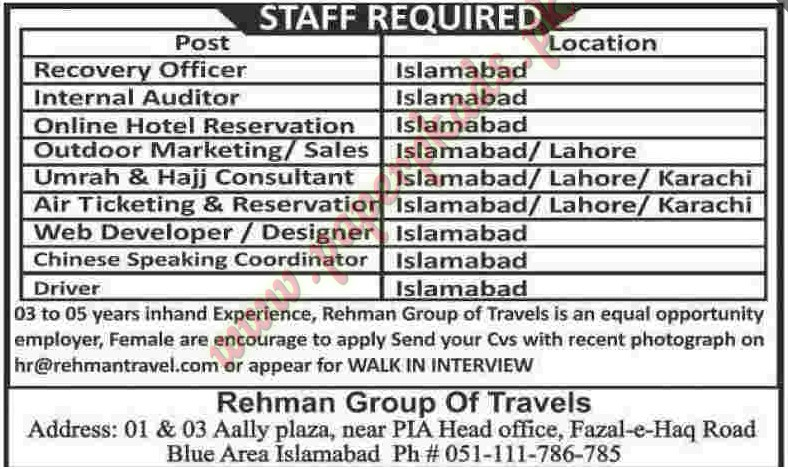 recovery officer internal auditor online hotel reservation and other jobs dawn jobs ads 14 september 2014