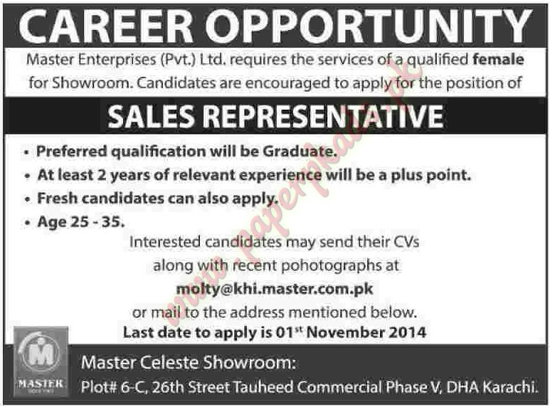 Sales Representative Jobs Dawn Jobs Ads 26 October 2014