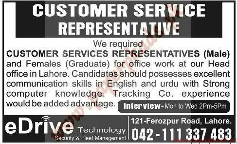 customer service jobs