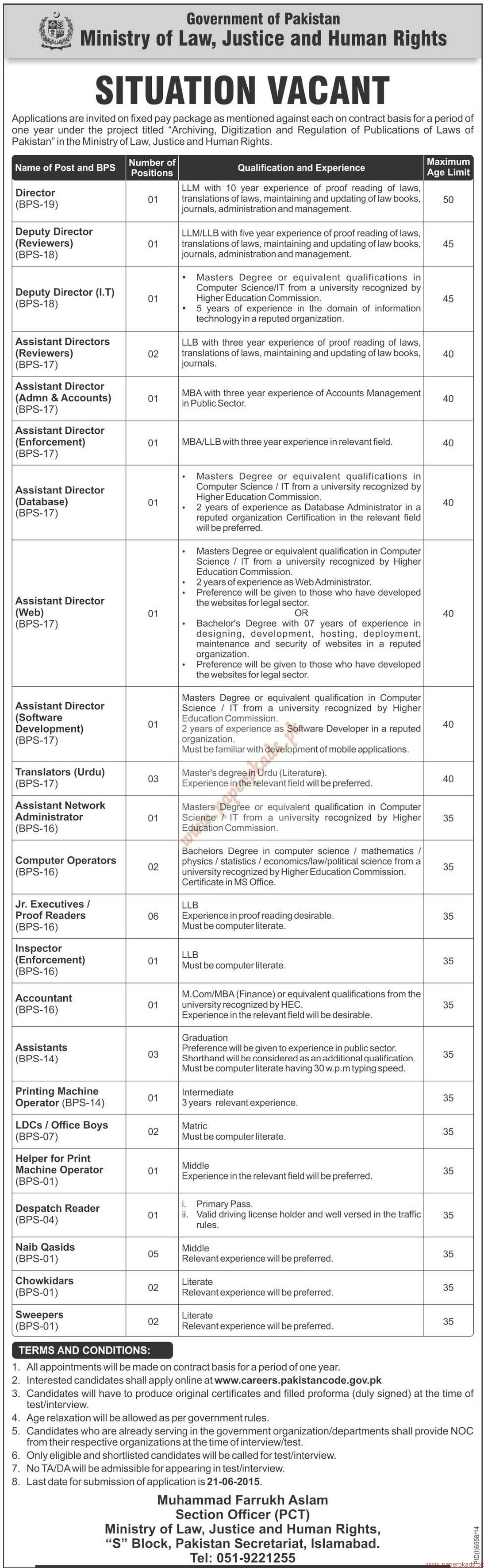 Ministry of law and justice jobs application form 2015 government of pakistan ministry of law justice and falaconquin