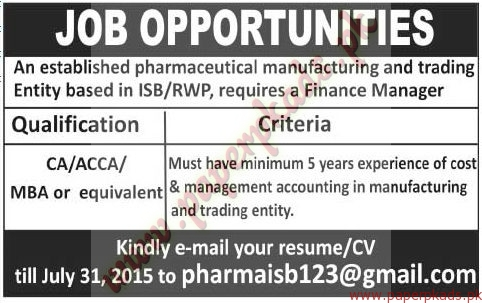 ca acca or mba qualified required the news jobs ads 05 july 2015 - Acca Cv