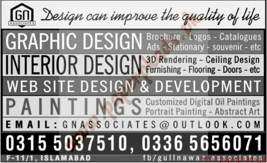 Graphic Design Interior Design Website Developers And Other Jobs The News Jobs Ads 18