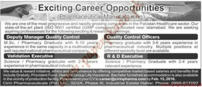 Quality Control Officer 20.07.2017