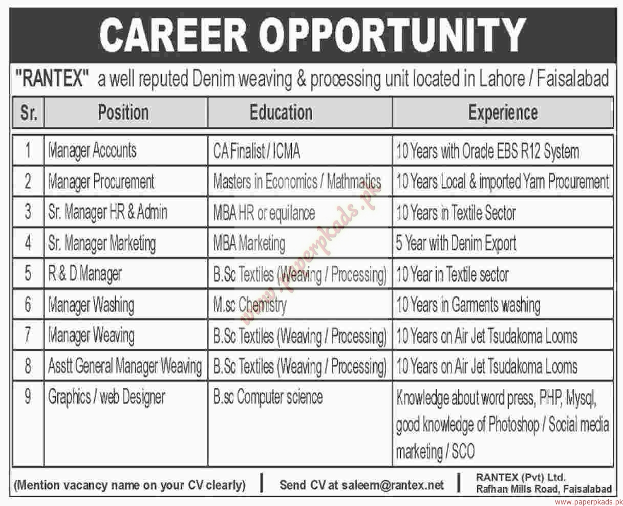 manager accounts manager procurement senior manager hr admin manager accounts manager procurement senior manager hr admin manager marketing and other jobs dawn jobs ads 07 2016