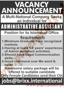 Administrative Assistant Jobs The News Jobs Ads 14