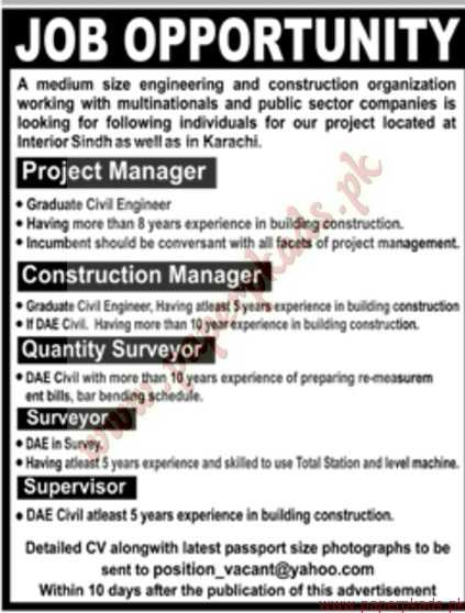 Project Managers Construction Managers Quantity Surveyors And Other