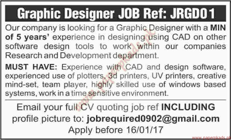 Graphic Designers Jobs