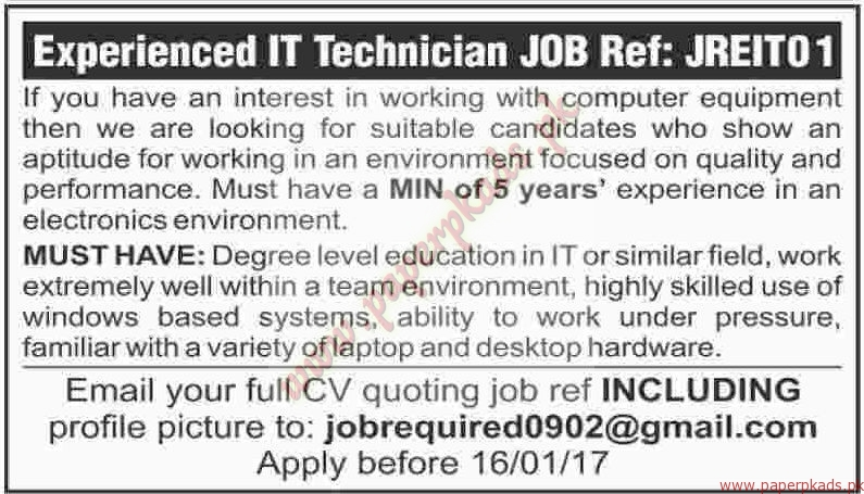 IT Technicians Jobs