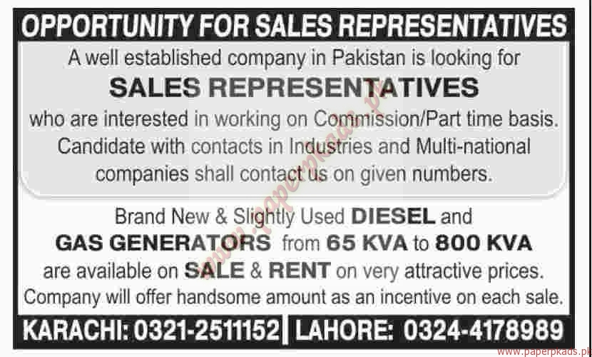 Sales Representatives Jobs