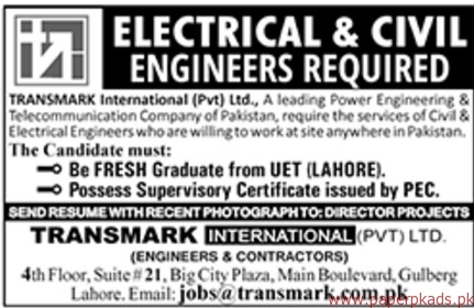 TransMark international Private Limited Jobs