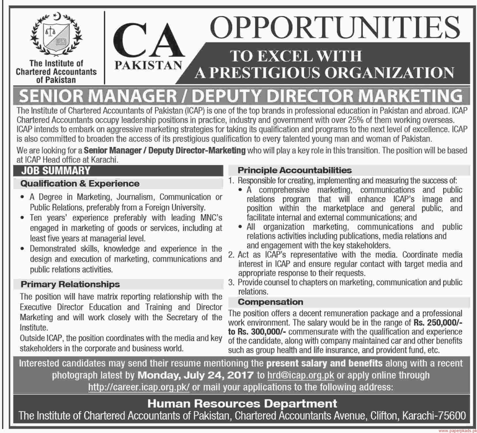 how to become a chartered accountant in pakistan