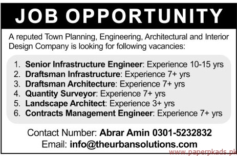 Planning engineering architectural and interior design for Design firm jobs