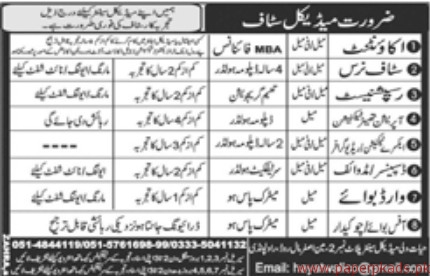Accountant Staff Nurses Receptionists and Other Jobs