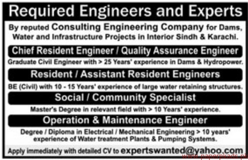 You might Consulting engineer group