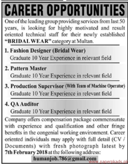 Leading Group Providing Services Jobs 2018