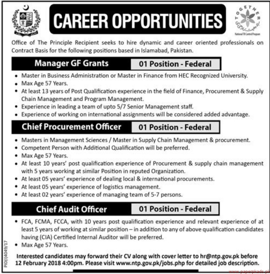 Together Group Jobs 2018