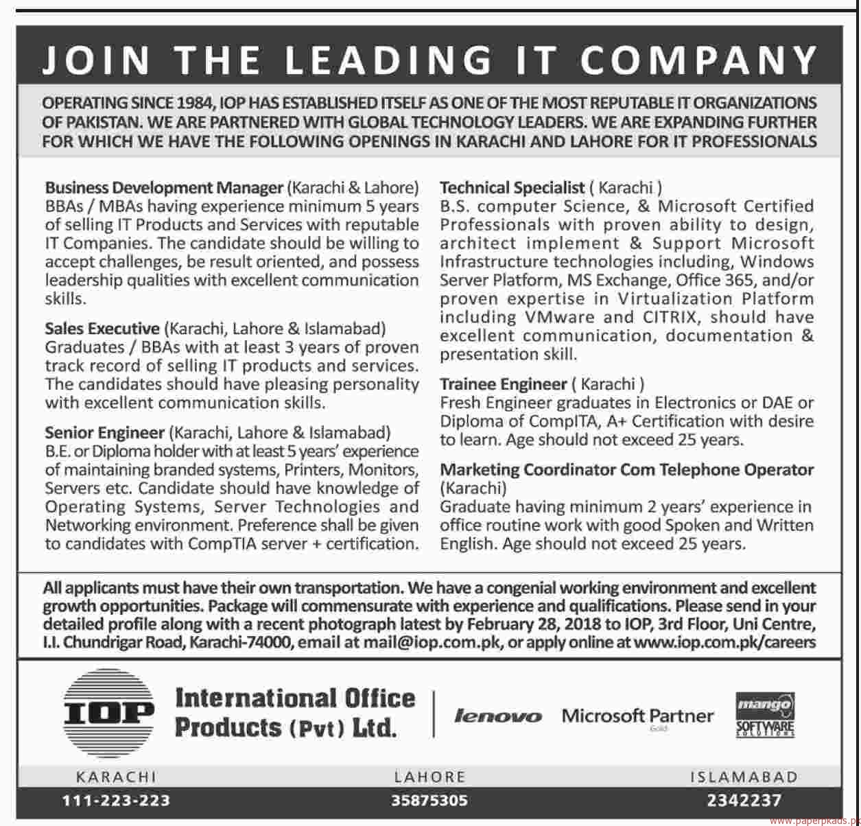 Nice ... International Office Products Private Limited Jobs 2018