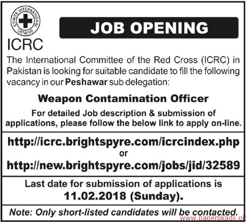 The International Committee of the Red Cross ICRC Jobs 2018-1