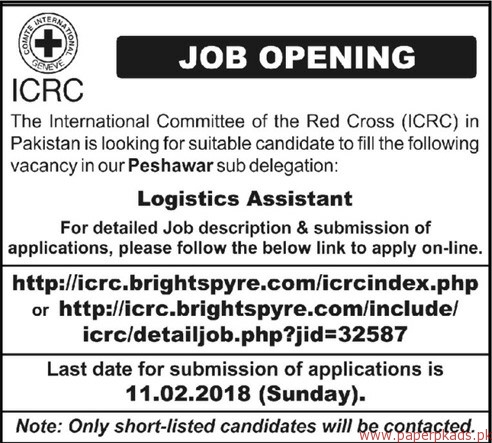 The International Committee of the Red Cross ICRC Jobs 2018-3