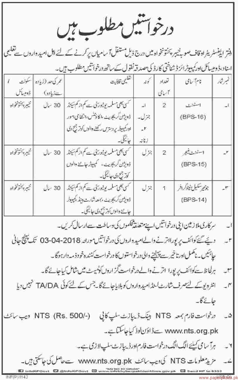 Assistant Manager Assistant and Junior Stenographer Jobs 2018