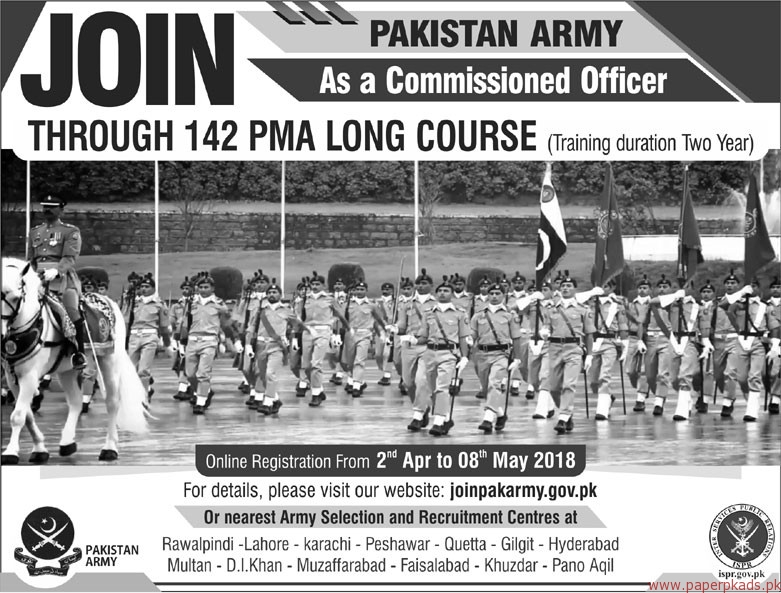 Pakistan Army Jobs Latest 2018 Paperpk