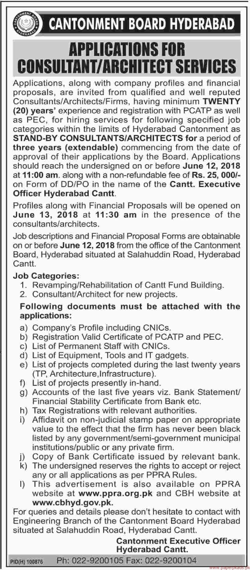 Cantonment Board Hyderabad Jobs 2018 Latest