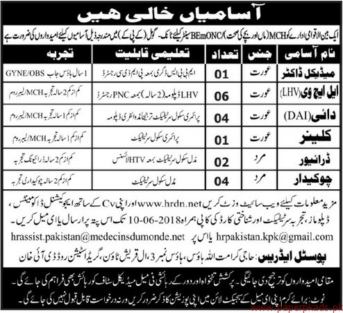 Medical Doctors Drivers and Other Jobs