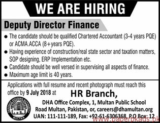 Defence Housing Authority Jobs 2018 Latest