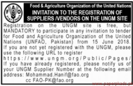 Food Agriculture Organization Jobs 2018