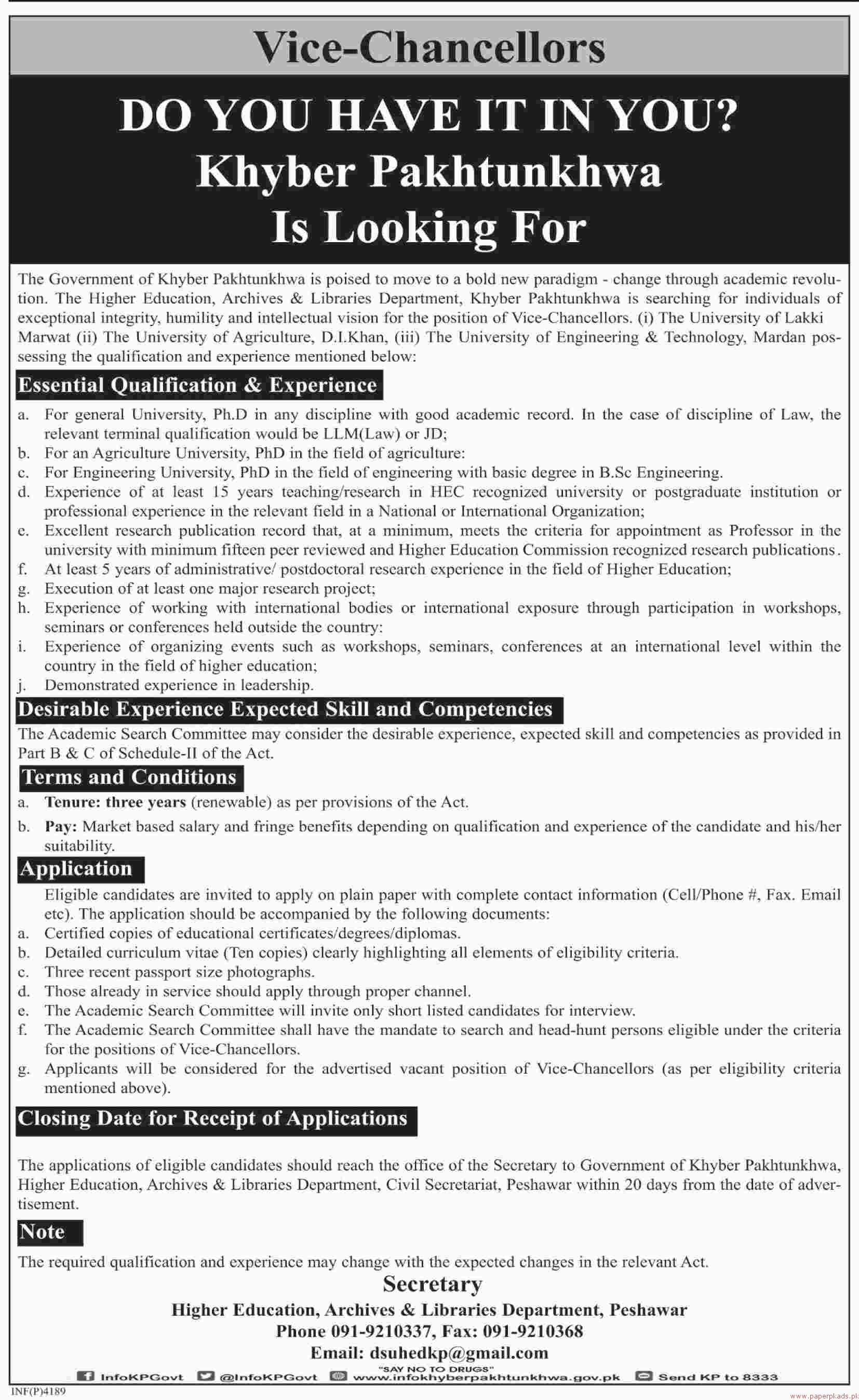 Higher Education Archives & Libraries Department Jobs 2018 Latest