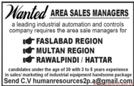 Leading Industrial Automation and Controls Company Jobs 2018 Latest