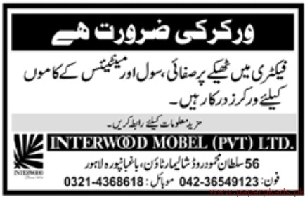 free interwood mobel private limited jobs latest with mobel