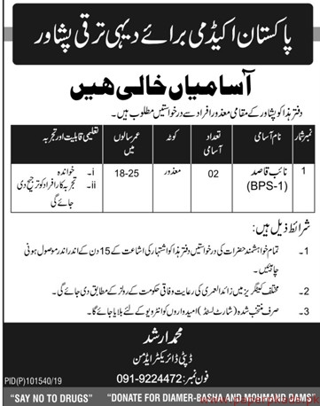 Pakistan Academy Jobs 2019 Latest