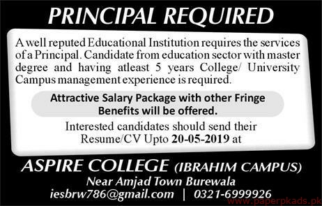 Educational Institution Jobs 2019 Latest