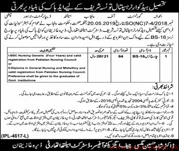 Government of the Punjab - Health Department Jobs 2019 Latest