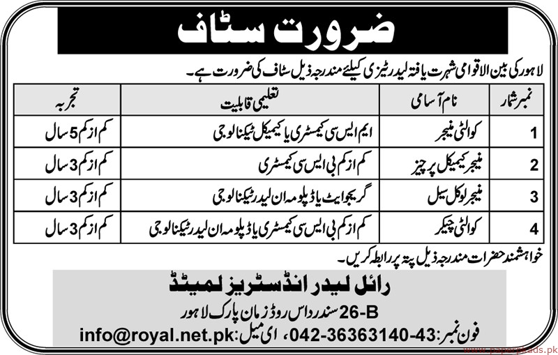 International Organization Jobs 2019 Latest