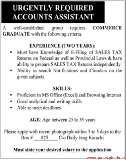 Well Established Group Jobs 2019 Latest