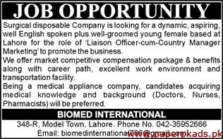 Surgical Disposable Company Latest Jobs 2019