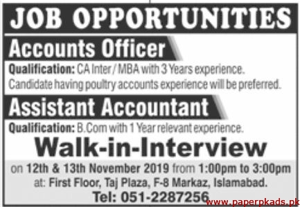Lahore Office Staff Required