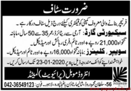 Interwook Moble Private Limited Jobs 2020 Latest