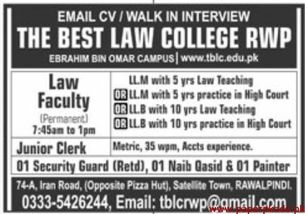 The Best Law College Jobs 2020 Latest