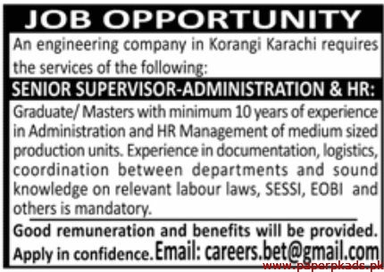 Engineering Company Jobs 2020 Latest