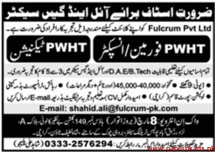 Fulcrum Pvt Ltd Jobs 2020 Latest